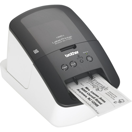 Brother QL-710W High-Speed Label Printer W/ Wireless Networking
