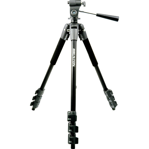 Brunton Aluminum Tripod With Pan-and-Tilt Head