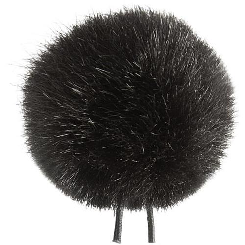 Bubblebee Industries Windbubble Miniature Imitation-Fur Windscreen (Lav Size 1, 28mm, Black)
