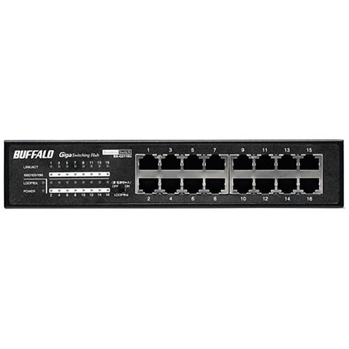 Buffalo 16 Port Unmanaged Business-Class Rackmount Gigabit Switch