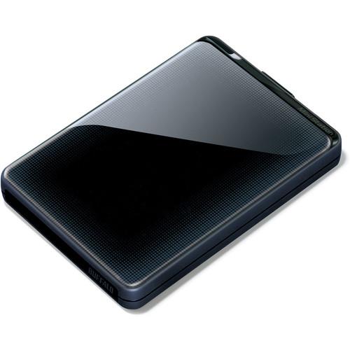Buffalo 500GB MiniStation Plus Portable USB 3.0 Hard Drive (Black)