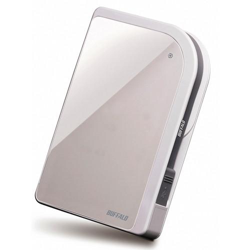 Buffalo 500GB MiniStation Metro HD-PXU2 USB 2.0 Portable Hard Drive (White)