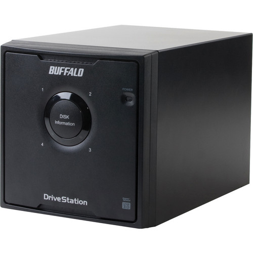 Buffalo 4 TB DriveStation Quad USB 3.0 Hard Drive Array