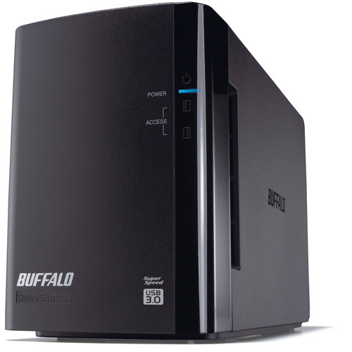Buffalo 4TB DriveStation Duo USB 3.0 Hard Drive RAID Array