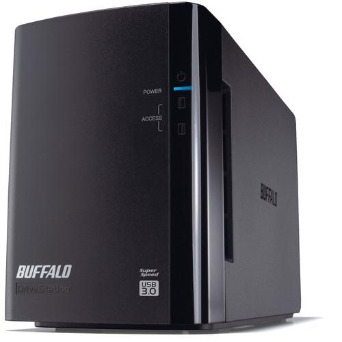 Buffalo 6TB DriveStation Duo USB 3.0 Hard Drive RAID Array