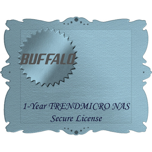 Buffalo Trend Micro NAS Security 1-Year Subscription Service for TeraStation