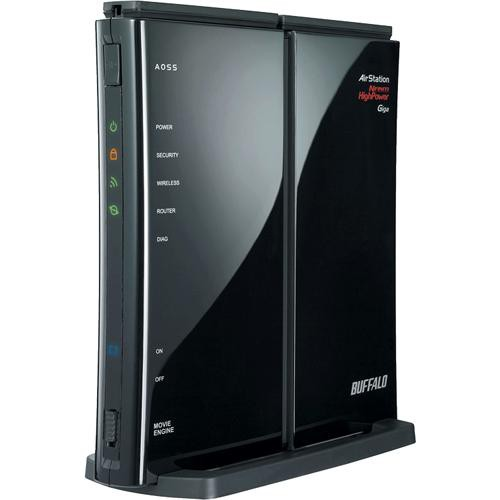 Buffalo AirStation Nfiniti Wireless-N High Power Router & Access Point