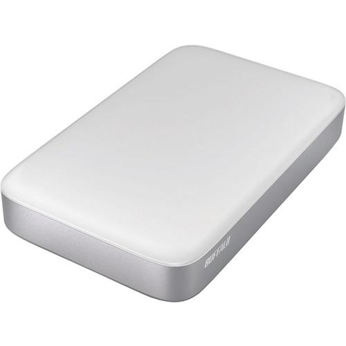Buffalo 1TB MiniStation Thunderbolt/USB 3.0 Portable Drive with Cables