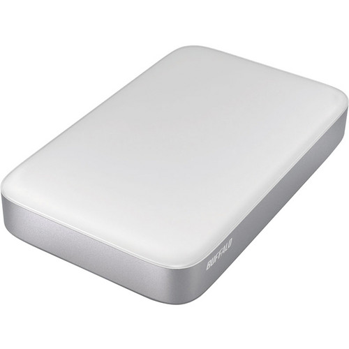 Buffalo 500GB MiniStation Thunderbolt/USB 3.0 Portable Drive with Cables