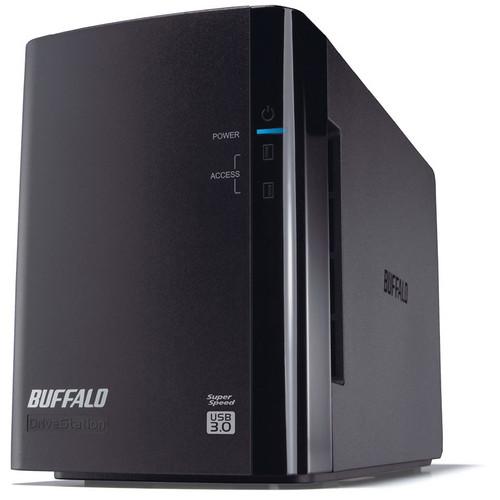 Buffalo 8 TB DriveStation Duo USB 3.0 Hard Drive RAID Array