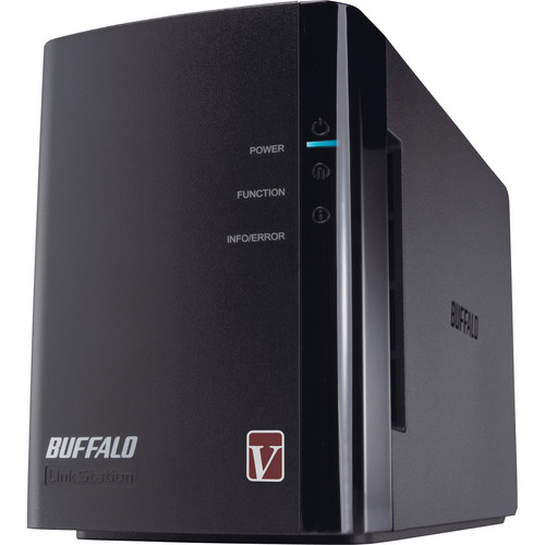 Buffalo LinkStation Pro Duo Network Hard Drive Array Enclosure (Diskless)