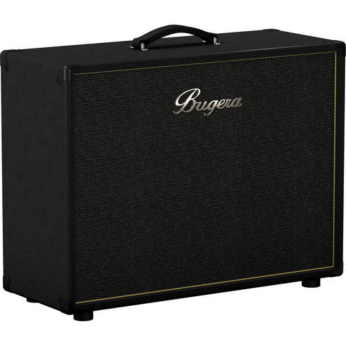 """Bugera 212V-BK Vintage 2 x 12"""" Stereo Guitar Cabinet"""