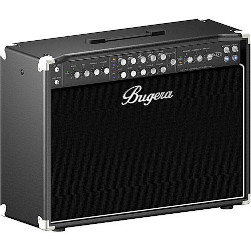 "Bugera 333XL-212 120W 3 Channel Valve Amplifier Combo w/ 2 x 12"" Speakers"