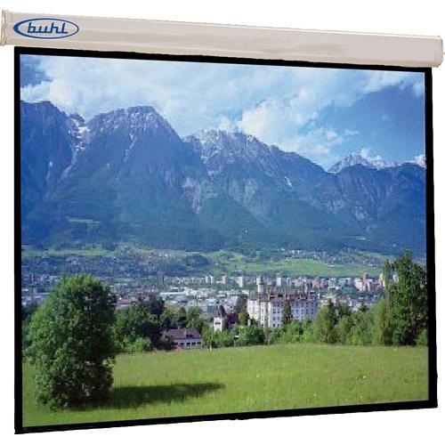 "HamiltonBuhl DSR7070  Innsbruck Motorized Wall Front Projection Screen (70x70"")"