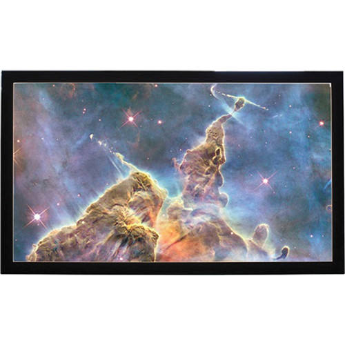 "HamiltonBuhl FF-150-Z Fixed Frame Projection Screen (74 x 131"")"