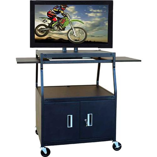 HamiltonBuhl PLCAB44E Wide Body Flat Panel TV Cart