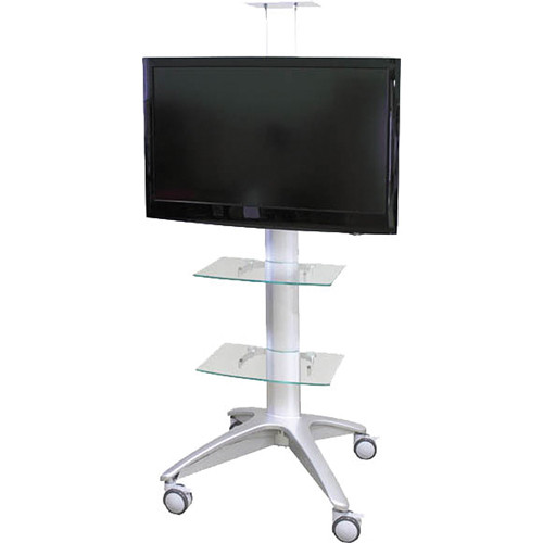 HamiltonBuhl Rolling Flat Panel TV Stand