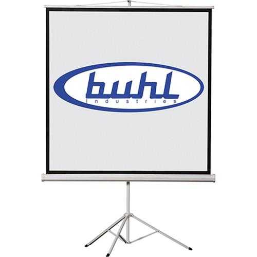 """HamiltonBuhl TPS-T96 Tripod Screen (96 x 96"""")"""
