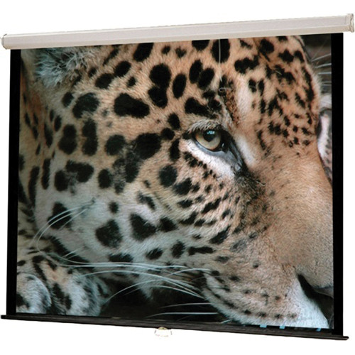 "HamiltonBuhl WS-W96 Manual Wall Projection Screen (96 x 96"")"