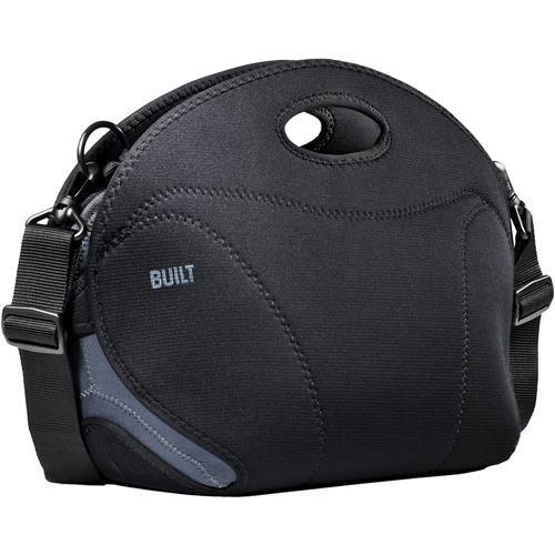 Built NY Cargo Camera Bag, Large (Black and Powder Blue)