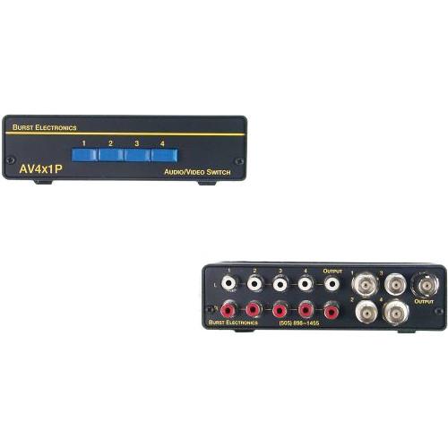 Burst Electronics AV4X1P Passive AV Switcher