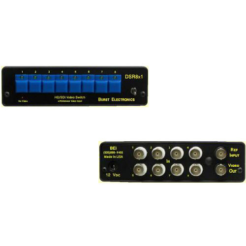 Burst Electronics DSR8x1 SD/HD-SDI Switcher
