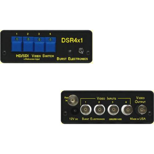 Burst Electronics DSR4x1 SD/HD-SDI Switcher