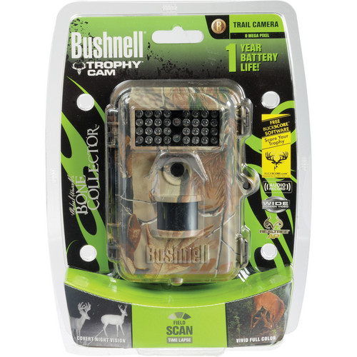 Bushnell 8MP Trophy Cam Bone Collector Edition Trail Camera (Camouflage)