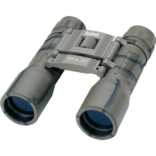 Bushnell 16x32 Powerview Binocular (Camouflage, Clamshell Packaging)