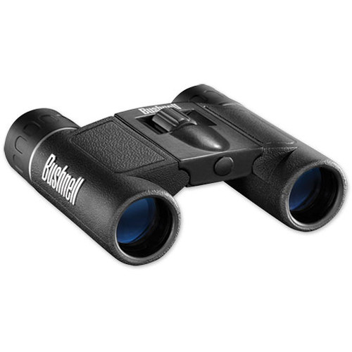 Bushnell 8x21 Powerview Binocular (Black, Clamshell Packaging)