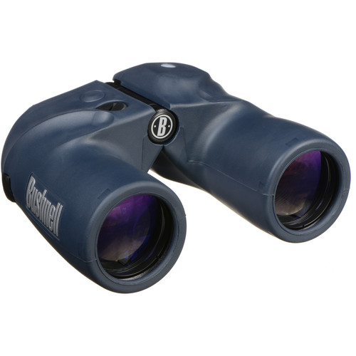 Bushnell 7x50 Marine Binocular with Analog Compass