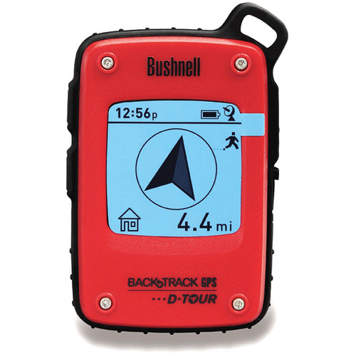 Bushnell Back-Track D-TOUR GPS (Red, 6-Languages)