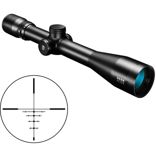 Bushnell 2.5-16x42 Elite 6500 Side Focus Riflescope (DOA 600 CF Reticle, Matte Black)