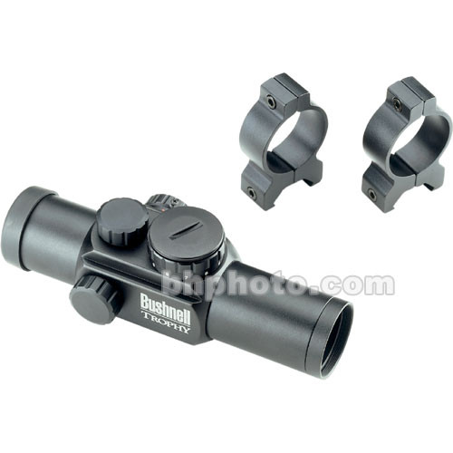 Bushnell Trophy 1x28 Red Dot Sight  (Matte Black)