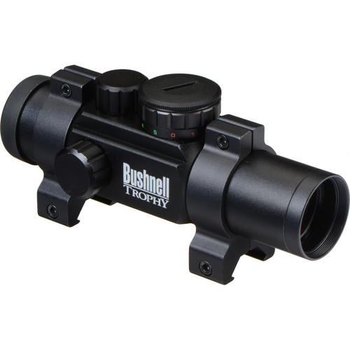 Bushnell 1x28 Trophy Riflescope w/ 4 Dial-In Elec. (Matte Black)