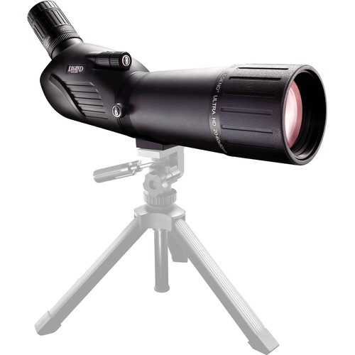 Bushnell Legend Ultra HD 20-60x80 Spotting Scope Kit (Angled Viewing)