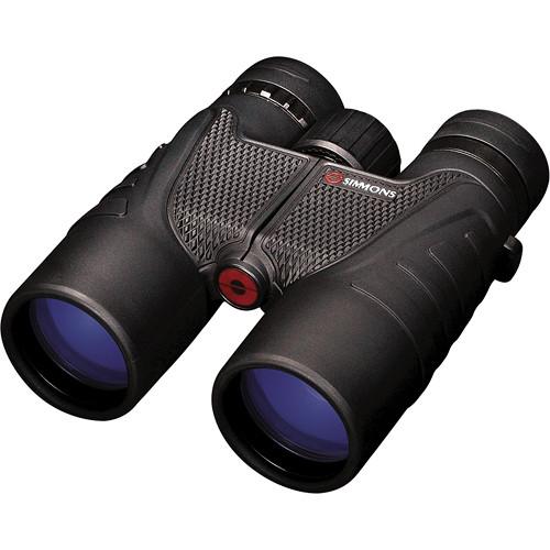 Simmons Simmons Pro Sport 8x42 Binocular (Black, Clamshell Packaging)