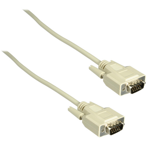 C2G 15ft Economy HD15 SVGA M/M Monitor Cable (Beige)