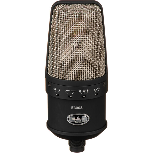 CAD Equitek e300 Multi-Pattern Condenser Microphone (Black)