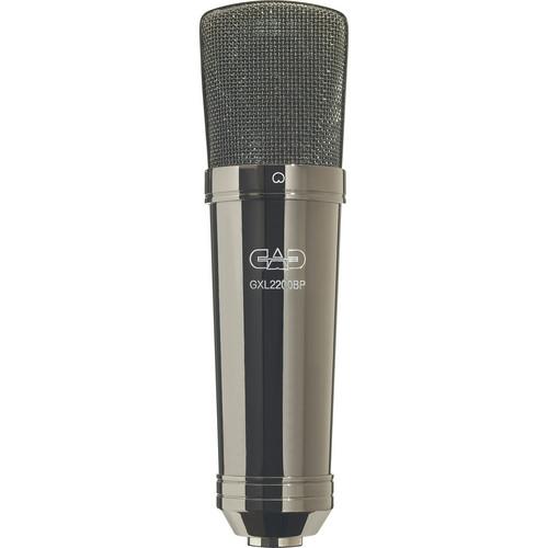 CAD GXL2200BP Cardioid Condenser Microphone (Black Pearl Chrome Finish)