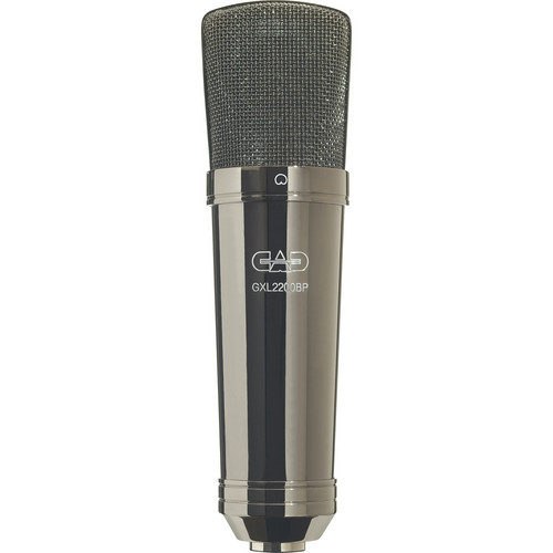 CAD GXL2200BP Cardioid Condenser Microphone (Black Pearl Chrome Finish)