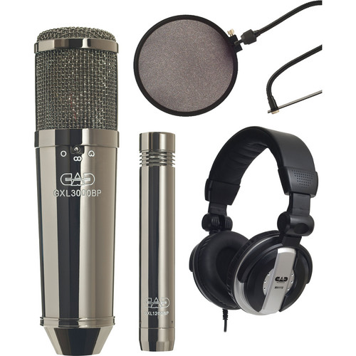 CAD GXL3000BPSP Studio Pack Bundle (Black Pearl Finish)