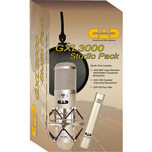 CAD GXL3000 Studio Pack Bundle