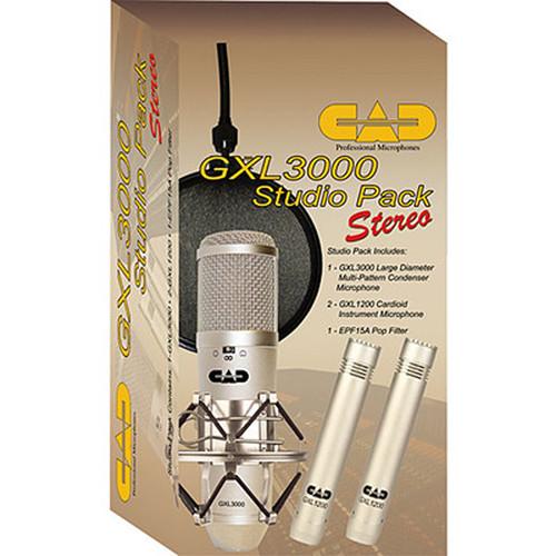 CAD GXL3000 Stereo Studio Pack Bundle