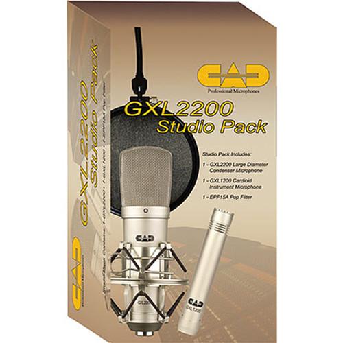 CAD GXL2200 Studio Pack Bundle