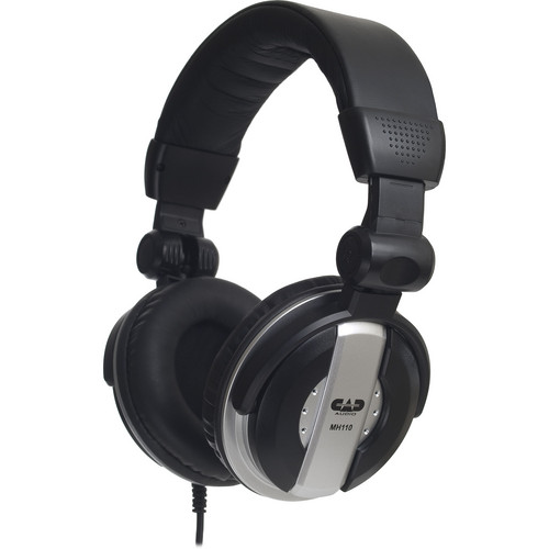 CAD MH110 Closed-Back Around-Ear Studio Monitor Headphones