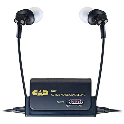 CAD NB2 Active Noise-Cancelling In-Ear Stereo Headphones