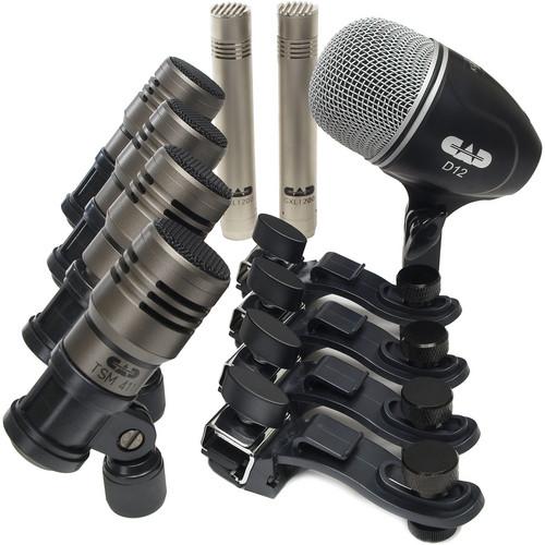 CAD Touring 7 Premium Drum Microphone Pack