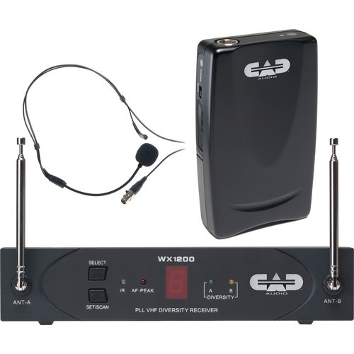 CAD StagePass WX1210HW Wireless Headworn Microphone System