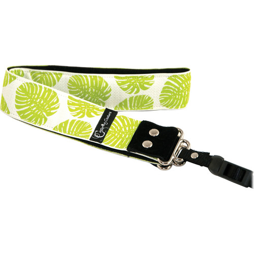 "Capturing Couture Hibiscus Collection: Bungalow Beach 1.5"" SLR/DSLR Camera Strap"